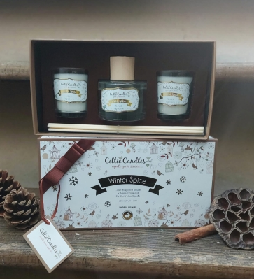 Candle Box Set   Winter Spice